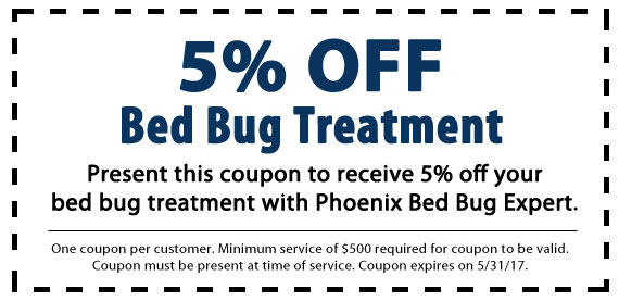 Chandler Bed Bug Treatment Coupon